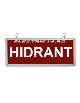 Lampa Hidrant Acumulator 1 Fata Sticla
