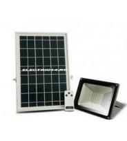 Proiector Led 30w Panou Solar Lumina Rece