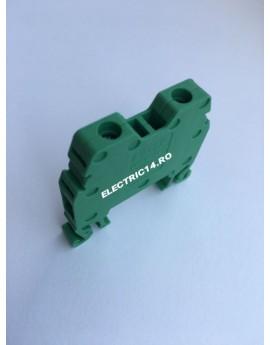 Regleta Sina DIN-MRK 4 mm Verde