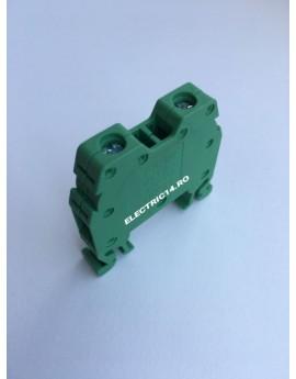 Regleta Sina DIN-MRK 6 mm Verde