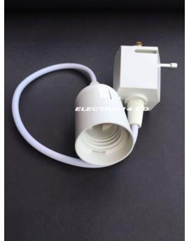 PENDUL DECORATIV E27 ALB 0.45-M PENTRU SINA LED