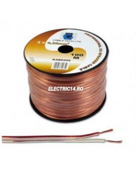 Cablu Silicon 2x1mm Cupru Rola 100ml