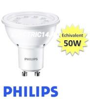 Bec led GU10 5w Lumina Calda Philips