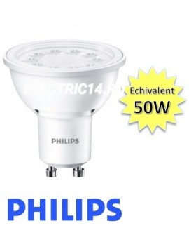 Bec led GU10 5w Lumina Calda Philips