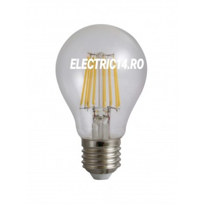 Bec Led E27 10w Clasic Filament Lumina Intermediara