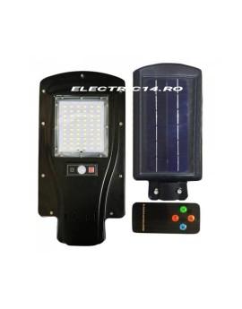 Corp Iluminat Stradal Led 30w Solar cu Senzori si Telecomanda