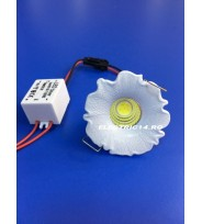 Spot Led 3w Mini GT-20 Alb Lumina Rece