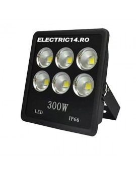 Proiector Led 300w (6x50 ) Lumina Rece