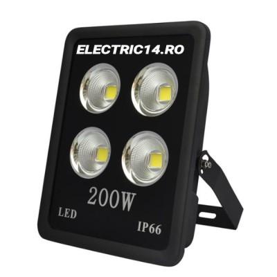 Proiector Led 200w  (4x50 ) Lumina Rece