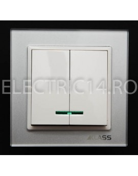 Comutator Ingropat Led GREY L-Klass