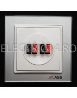 Priza Ingropata Sistem Audio GREY L-Klass