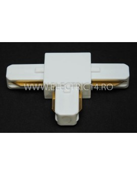 Conector Sina Led T Alb