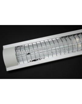 Aplica Led 2x18w Dreptunghiulara Gratar Lumina Calda