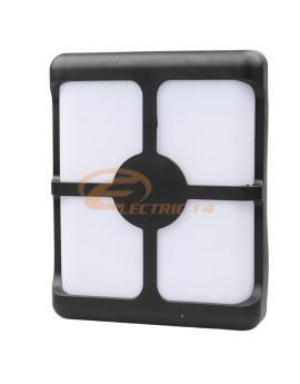 APLICA LED 24W EXTERIOR 0015 (BATT) NEGRU LUMINA RECE