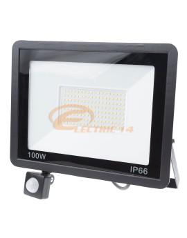 PROIECTOR LED 100W SMD SENZOR TABLETA IP66 LUMINA RECE
