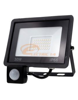PROIECTOR LED 30W SMD SENZOR TABLETA IP66 LUMINA RECE
