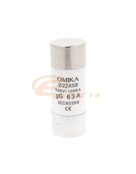 Siguranta cilindrica 22x58 / 63A