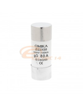 Siguranta cilindrica 22x58 / 80A