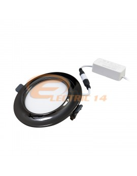 SPOT LED 9W BLACK LUMINA INTERMEDIARA