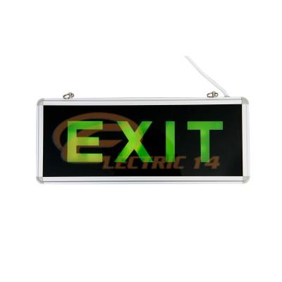 Lampa  Exit Acumulator Sticla 1 Fata