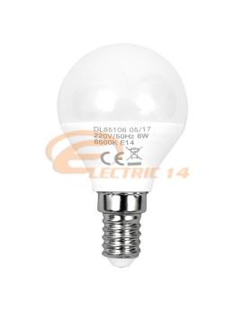 BEC LED E14 6W SFERIC G45 LUMINA CALDA DELIGHT