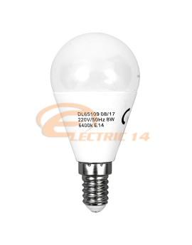 BEC LED E14 8W SFERIC G45 LUMINA CALDA DELIGHT