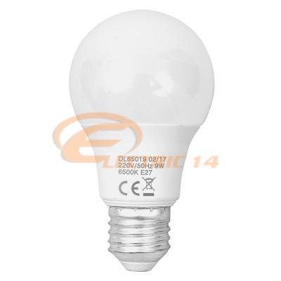 BEC LED E27 9W GLOB LUMINA RECE DELIGHT