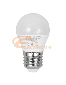 BEC LED E27 6W SFERIC G45 LUMINA CALDA DELIGHT