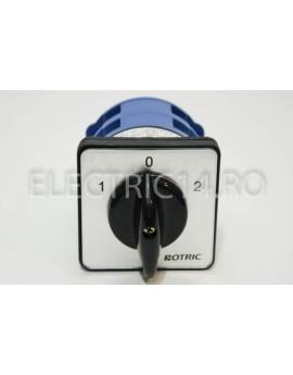 Intrerupator Rotativ 2 Etaje 125A 1-0-2