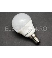Bec Led E14 3w SMD Sferic P45 Lumina Calda Odosun
