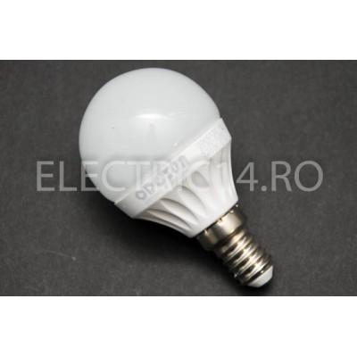 Bec Led E14 7w SMD Sferic P45 Lumina Rece Odosun