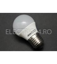 Bec Led E27 5w SMD Sferic P45 Lumina Intermediara Odosun
