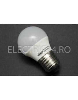 Bec Led E27 3w SMD Sferic P45 Lumina Calda Odosun