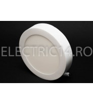 Aplica led 12w lumina rece rotunda Klass