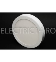 Aplica led 18w rotunda lumina rece Klass