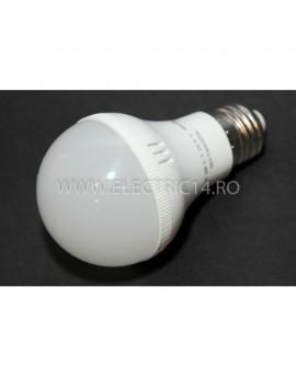 Bec led E27 7w SMD A60 Lumina calda Economy