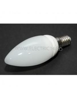Bec Led E14 3w Lumanare Ceramic Lumina Calda Klass