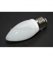 Bec Led E27 3w Lumanare Ceramic Lumina Calda Klass