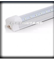 Tub Led T8+Suport 30cm 5w Clar Lumina Cald