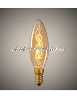 Bec Decorativ Edison E14 40w C35 Lumanare (tg2105.4140)