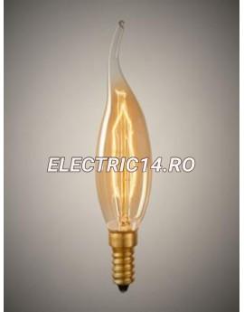 Bec Decorativ Edison E14 40w C35 Flacara (tg2105.3140)