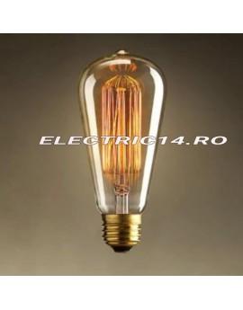 Bec Decorativ Edison E27 60w ST48 Tubular (tg2105.7260)
