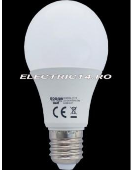 Bec led E27 9w Glob Lumina Calda Odosun