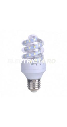 Bec Led E27 9w Spirala Lumina Rece