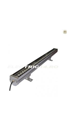 Proiector Led Exterior Liniar 36w Lumina Calda