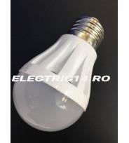 Bec Led E27 3w SMD Sferic P45 Lumina Calda