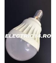 Bec Led E14 3w SMD Sferic P45 Lumina Rece
