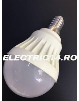 Bec Led E14 3w SMD Sferic P45 Lumina Calda