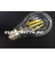 Bec Led E27 4w Clasic Filament Lumina Rece