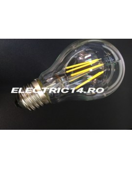 Bec Led E27 4w Clasic Filament Lumina Calda